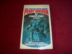 PERRY RHODAN N° 89 °°°°  Power's Price - Sciencefiction