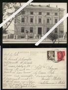 AGRIGENTO - 1930 - FOTOCARTOLINA DELLA FACCIATA DELLA BANCA D'ITALIA. UNICA!!! - Agrigento