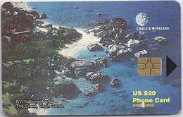 BRITISH VIRGIN ISLANDS - THE CRAWL - RED CHIP - 8 DIGITS - Virgin Islands