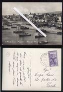 MANFREDONIA - FOGGIA - 1952 - PANORAMA - MERCATO ITTICO. - Manfredonia