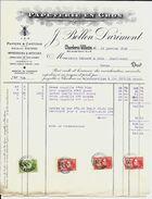 CHARLEROI-Vilette    J. Bollen - Darimont  Papeterie  En Gros  1929 - Imprimerie & Papeterie