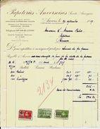 ANVERS  Papeteries Anversoises   1929 - Imprimerie & Papeterie