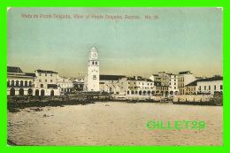AZORES, PORTUGAL - VISTA DE PONTE DELGADA, VIEW OF PONTE DELGADA - 3/4 BACK - - Açores