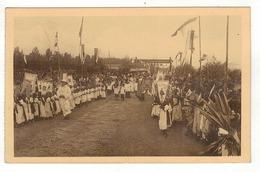 RWANDA - RUANDA - Procession à La Mission D'Isavi. - Rwanda