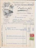 LIÈGE  Longdoz  Dubois Fils  Savonnerie Parfumerie Philo Derme   1928 - Droguerie & Parfumerie