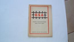 OPUSCOLO LIBRETTO USA  AMERICA PAGINE DOCUMENTAZIONE STATI UNITI DIFESA DELLA RAZZA SECONDA GUERRA - Boeken, Tijdschriften, Stripverhalen