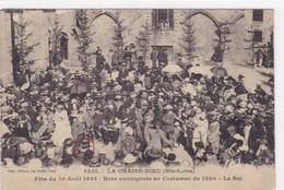 Haute-Loire - La Chaise-Dieu - Fête Du 10 Août 1924 - Noce Auvergnate En Costumes De 1820 - Le Bal - La Chaise Dieu