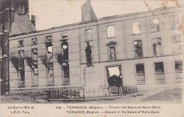 CPA N°429 Belgique TERMONDE Couvent Des Soeurs De Notre Dame - België