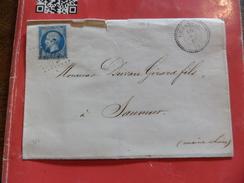 10.12.17_LAC Rare  N°22,. A Voir!! Cachet Perlée - Postmark Collection (Covers)