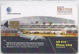 BRITISH VIRGIN ISLANDS - INTERNATIONAL AIRPORT - RED CHIP - Virgin Islands