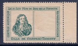 FRANCE - PORTE TIMBRE JEAN DE LA FONTAINE NEUF - Autres
