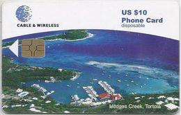 BRITISH VIRGIN ISLANDS - HODGES CREEK - RED CHIP - Virgin Islands