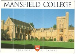 GB - Regno Unito - GREAT BRITAIN - UK - 2007 - 48p - Mansfield College - University Of Oxford - Viaggiata Da Oxford Per - Oxford