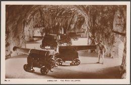 The Rock Galleries, Gibraltar, C.1930s - Imperial Newsagency RP Postcard - Gibraltar