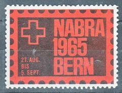 BABRA BERN 1965 - Vignetten (Erinnophilie)