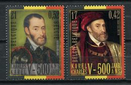 Belgium 2000 Belgica / Joint Issue Spain Emperor Charles V MNH Emision Conjunta España Carlos V / Js23  29 - Emisiones Comunes