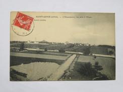 C.P.A. 69 SAINT-GENIS LAVAL : L'Observatoire, Vue Prise De L'Ouest, Timbre 1908 - Altri Comuni