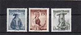 Österreich, Nr. 978/80** (T 409) - 1945-.... 2. Republik