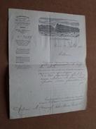 AU BON MARCHE Paris ( Fillot, Ricois, Lucet & Cie ) Anno 1900/01 + 2 Lettres ( Zie/voir Photos ) 4 Document ! - France