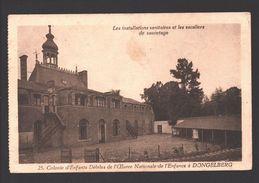 Dongelberg - Colonie D'Enfants Débiles - Les Installations Sanitaires Et Les Escaliers De Sauvetage - Jodoigne