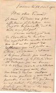 VP11.763 - Noblesse - LAS - Lettre De Mr Alfred DU BOIS DU TILLEUL Baron D'ANGLES à VANNES - Autographs