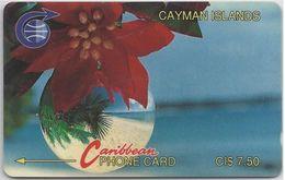 CAYMAN ISLANDS - SEASON'S GREETINGS - 1CCIA - Cayman Islands