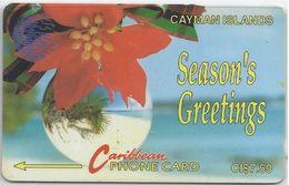 CAYMAN ISLANDS - SEASON'S GREETINGS - 4CCIA - Cayman Islands