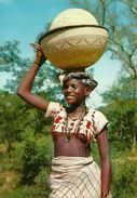 Nigeria, North-Western State, Fulani Milk-seller, Gussau, Sokoto - Nigeria