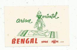 Publicité , Bon De Remise De 0.20 F , CAFE BENGAL , Arôme Oriental, 2 Scans - Advertising