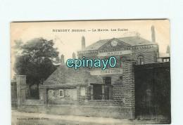 B - 80 - RUMIGNY - La Mairie Et L'école - France