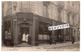 BLOIS   Pharmacie Nouvelle 30 32 Rue Denis Papin  2 Scans - Blois