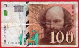 -- 100 FRANCS  PAUL CEZANNE  1997 - -- - 1992-2000 Dernière Gamme