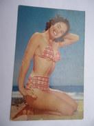 CPSM PIN UP - Femme En Bikini - Color R Card USA - Pin-Ups