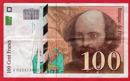 -- 100 FRANCS  PAUL CEZANNE  1997 - -- - 1992-2000 Ultima Gama