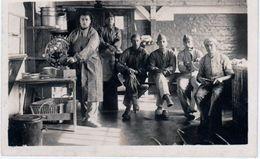 1925 Fort Drouot Grand Moulin à Café Carte-photo Beau Plan Cuisiniers 5° Groupe 39 RA Dos Scané - Régiments