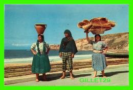 NAZARÉ, PORTUGAL - ASPECTOS TIPICOS - COSTUMES TYPIQUES DE  3 FEMMES  -  EDIÇOES MEDEIROS - - Leiria
