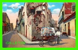 HAVANA, CUBA - STREET VENDOR IN CLOSE UP IN THE INNER PART OF THE CITY -  ROBERTS & CO - - Cuba