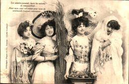 Femme 649 4 Femmes Représentant Les Saisons (Dugas Et Cie - Women
