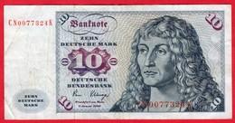 -- ZEHN DEUTSCHE MARK 10 DEUTSCHE BUNDESBANK  - 1980 -- - [ 7] 1949-… : FRG - Fed. Rep. Of Germany