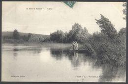 La Seine à Marnay - Les Iles - Cliché S. L., Coll. Lenoir - Voir 2 Scans - Autres Communes
