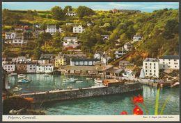 Polperro, Cornwall, 1977 - John Hinde Postcard - England