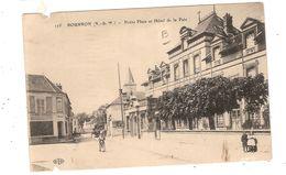 CPA Marlotte Petite Place Et Hôtel De La Paix   77 Seine Et Marne Bourron - France