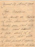 VP11.768 - Noblesse - LAS - Lettre De Mme La Comtesse De CASERTA à CANNES - Autographs