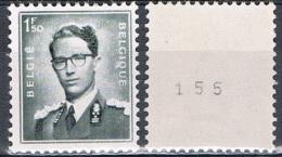Année 1970 - COB R27** Roi Baudouin - Cote 1,00 € - Coil Stamps