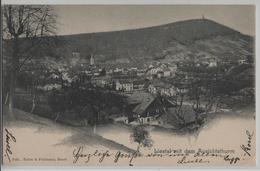 Liestal Mit Dem Aussichtsturm - Photo: Rathe & Fehlmann - Stempel: 1.2.03 - BL Bâle-Campagne