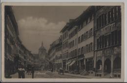 Liestal - Rathausstrasse - Animee - Photo: Guggenheim - BL Bâle-Campagne