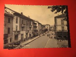 CARTOLINA NIZZA MONFERRATO  CORSO ROMA ANIMATA      -  D 2257 - Asti