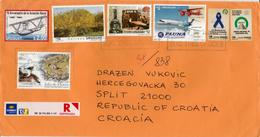 URUGUAY --nice Register Cover With Many Stamps - Sammlungen (ohne Album)