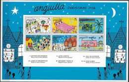1976 Anguilla Mi. Bl. 14 **MNH Christmas - Anguilla (1968-...)