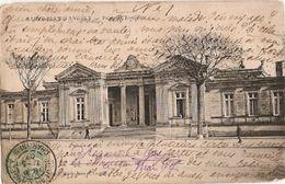 France &  Circulated,Saint-Jean-d'Angély, Palais De Justice 1907 (6888) - Monuments